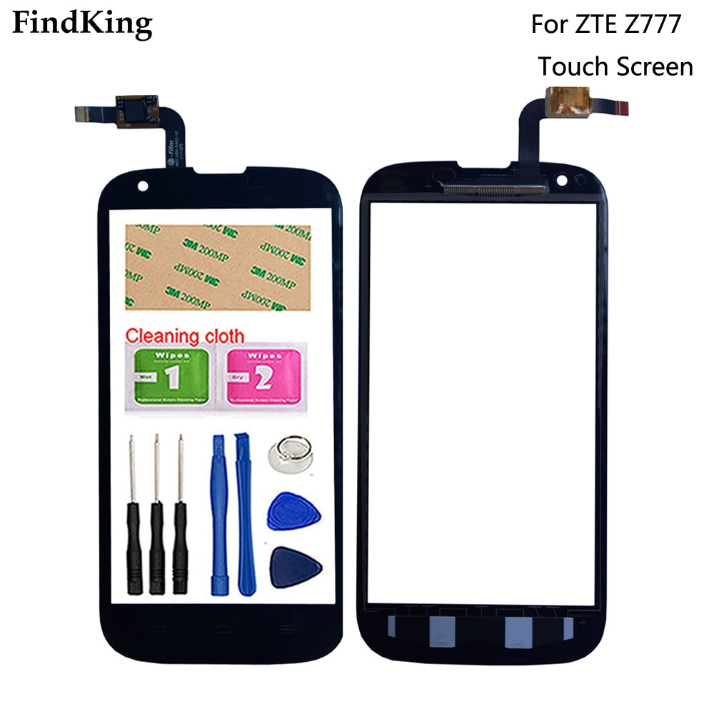 Mobile Phone Touch Screen For ZTE Grand X Z777 Touch Screen Front Glass Digitizer Panel Lens Sensor