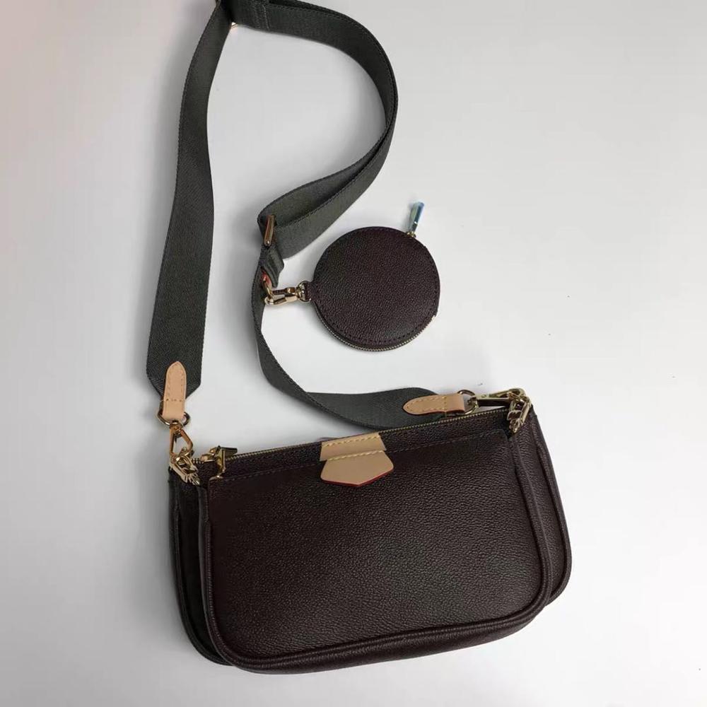 جلد طبيعي عالية الجودة حقيبة جونغ حقائب كتف