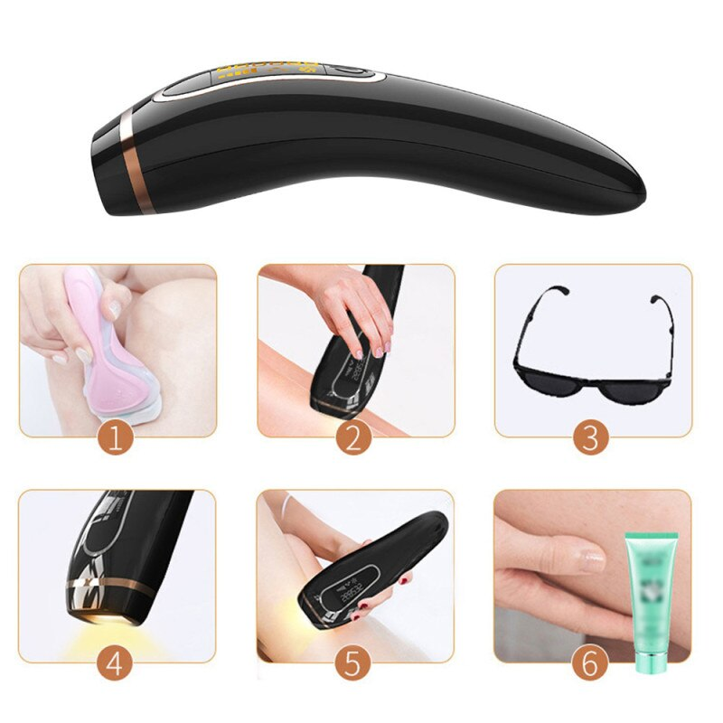 Professional Permanent IPL Hair Removal Laser Epilator For Women 999999 Flash LCD Display Bikini Ipl Laser Hair Removal Machine