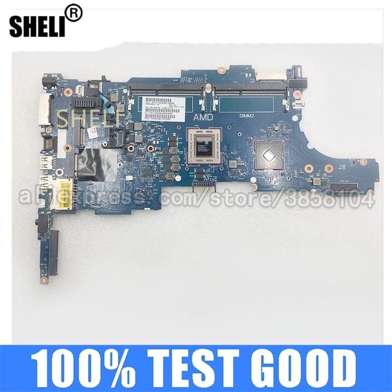 SHELI لأجهزة الكمبيوتر المحمول HP 6050A2644501-MB-A02 اللوحة الأم 745 755 G2 CPU الكمبيوتر المحمول A8-7510B اللوحة الرئيسية 802542-001 اختبار ok