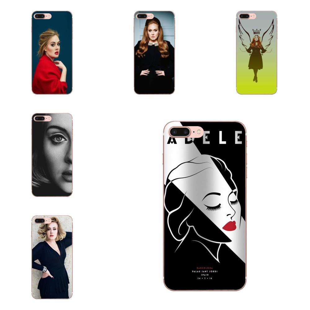 Suave TPU BONITO CASO Adele foto para Xiaomi Redmi Mi 4 7A 9T K20 CC9 CC9e Nota 7 8 9 Y3 SE Pro primer ir a jugar