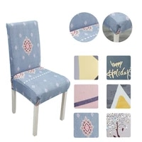 chair cover spandex elastic chair cover stretch office cover for chairs kitchen cover for armchairs for home wedding chair cover