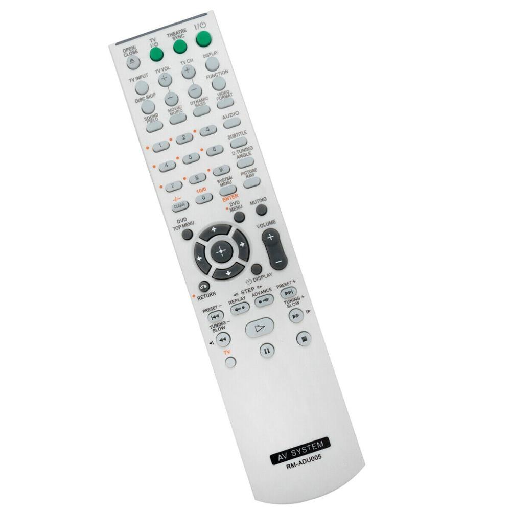 New Replaced Remote Control For SONY RMADU003, 147964111, RMADU005, 148000411, RMADU006, 148000311 DVD Home Theater System