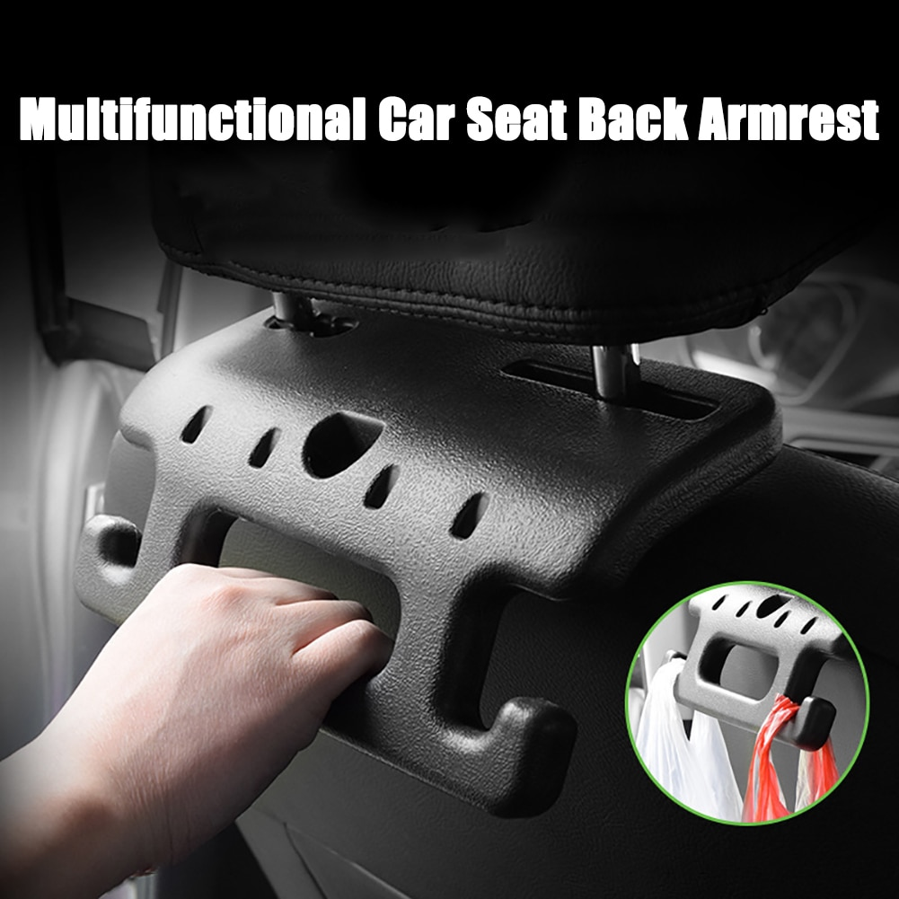 Armrest Headrest Safety Handlebar ABS Car Seat Holder Hook Auto Hook High Quality Car Interior Accessories