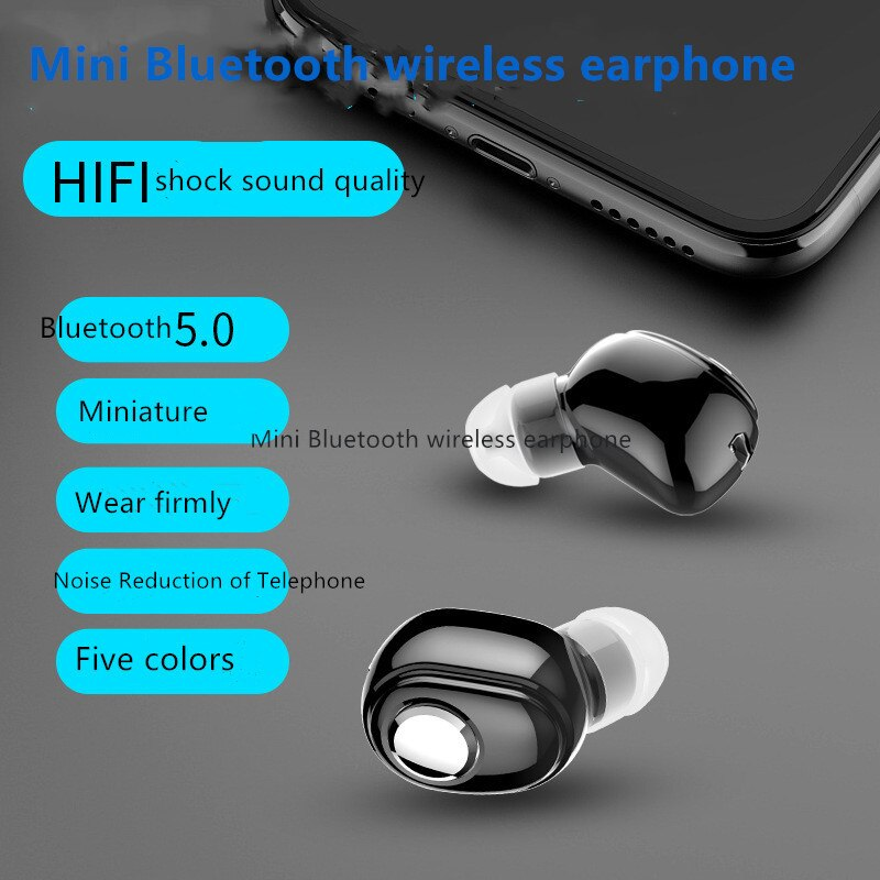 ¡Producto en oferta! Miniauricular inalámbrico L15 Bluetooth V5.0, auriculares estéreo intraurales para deportes, auriculares para correr, auriculares para Android IOS