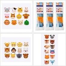 19 PCS 5D Diamond Painting Kits for Kids DIY Diamond Kits Crystal Mosaic Sticker by Numbers Kits Arts and Crafts Set