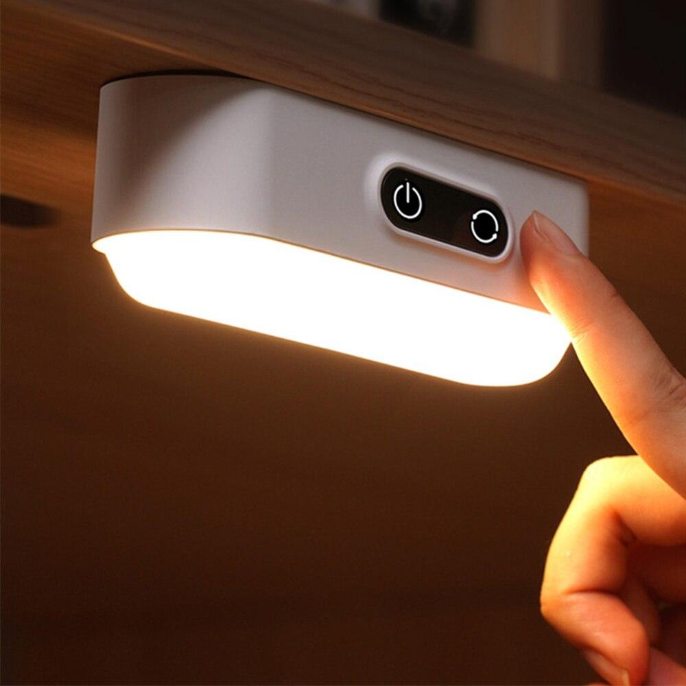 26 LEDS PIR Motion Sensor LED Night Lights USB Rechargeable/Plug In Under Cabinet Lights Magnet Stepless Dimmable Reading Lamp