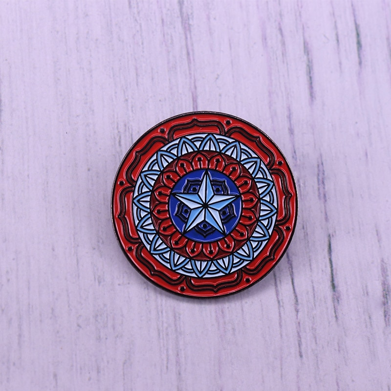 Marvel  Captain America Shield Pin