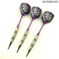 new 3 piece set 14g professional silver plated soft tip darts darts flight sports darts axis