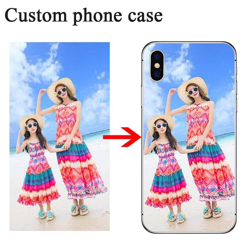 Custom Photo Case For Samsung A70 A60 A50 A40 A30 A20 A10 M20 M30 A8 A6 A7 2018 A3 A5 2017 A310 A510 A710 Customized Print Cover