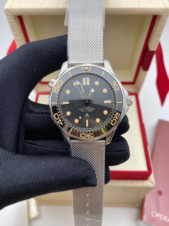 2021  Mechanical Brand Luxury Mesh Belt Automatic Watch Men Waterproof Wristwatch Limited Edition Master James Bond's enlarge
