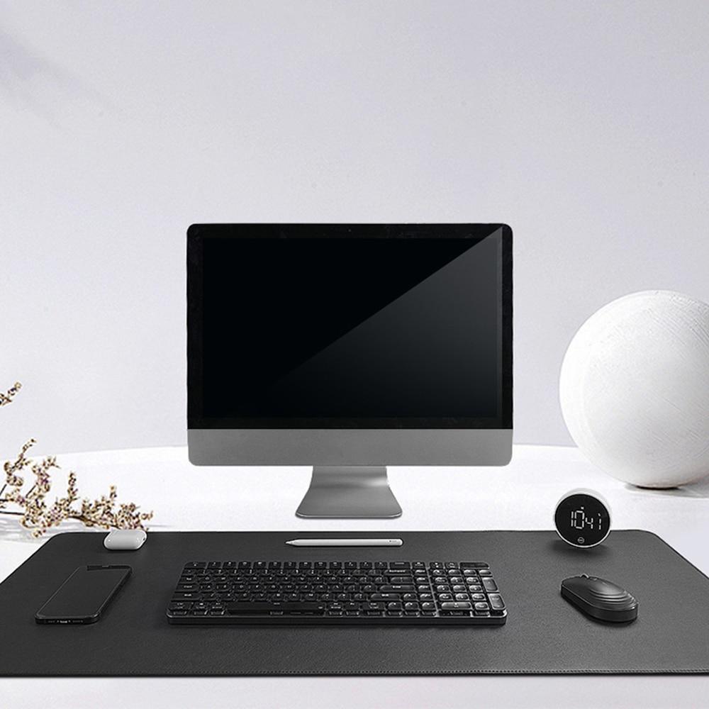 MIIIW المتضخم الجلود الفلين ماوس الوسادة الوجهين مقاوم للماء لينة كبيرة حصيرة مكتبية 900*400 مللي متر الكمبيوتر ماوس لوحة المفاتيح