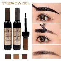 3 colors professional eyebrow dye cream quick dry long lasting coloring smudge proof waterproof sweat proof eyebrow makeup kit