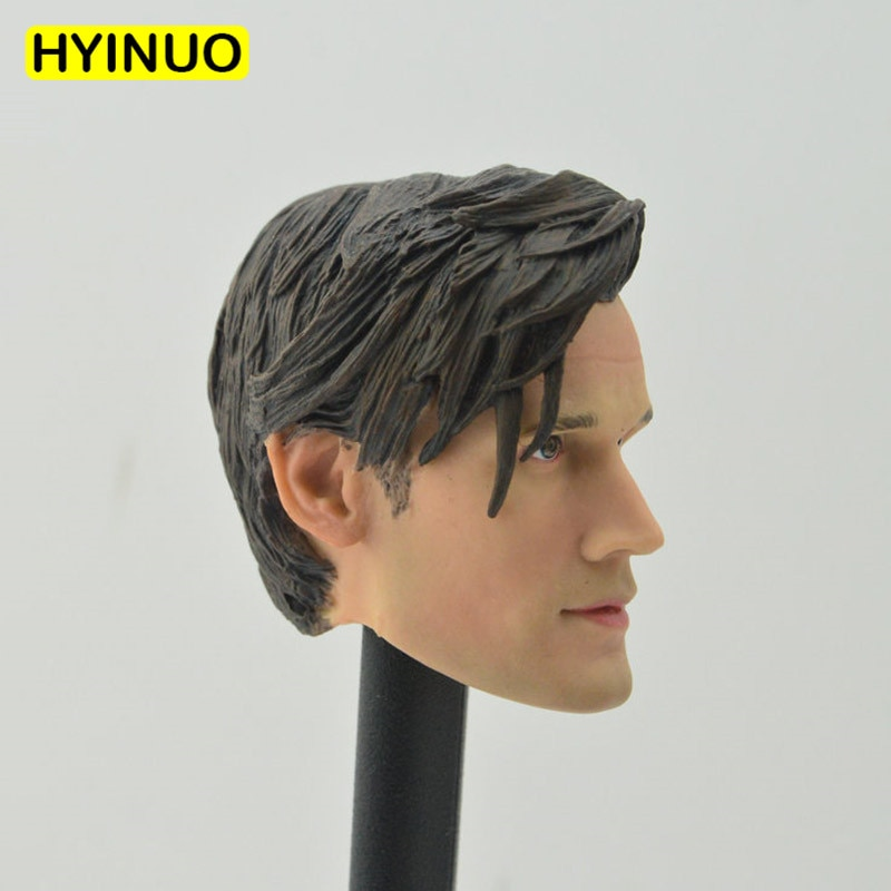 "Custom 1/6 Scale Male Man Boy Matthew Robert Matt Smith Genisys Doctor Head Sculpt Headplay for 12"" Action Figure Body"