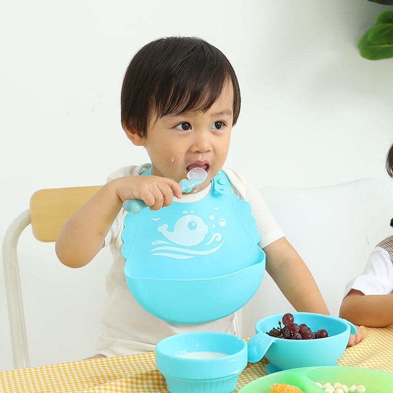 Силиконовые детское питание кармашек для риса, супер мягкое детское питание кармашек для риса, Детская вытирания слюней младенцев кармана ...