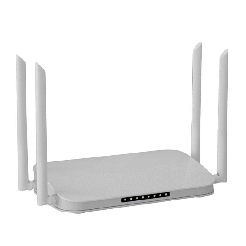 WIFI6 راوتر 1800Mbps 4-Core اللاسلكية جيجابت ميناء المنزل من خلال الجدار الملك كامل البيت عالية الطاقة موزع إنترنت واي فاي