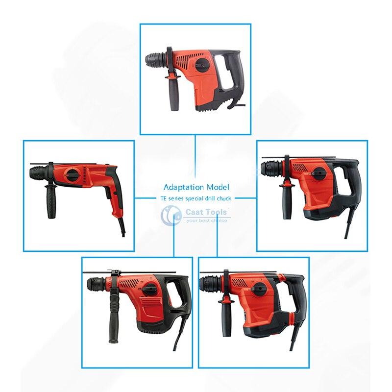 SDS Type DRILL CHUCK For Hilti TE1 TE5 TE6 TE7 TE12 TE14 TE15 TE16 TE17 TE22 TE24 TE25 TE30 TE35 TE40 Power Tool Accessories enlarge