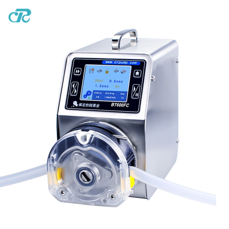 Chuangrui Touch Screen LCD Display Bottle Filling Peristaltic Pump enlarge