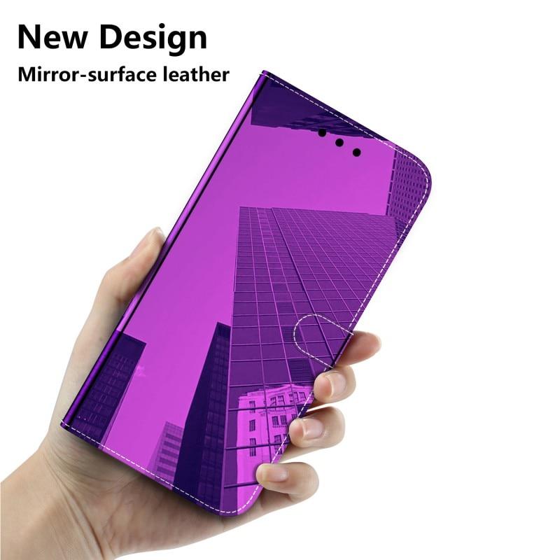 Funda para Xiaomi MI 9T K20 PRO funda abatible billetera a prueba de golpes Funda de cuero con espejo magnético para Xiaomi K20 MI 9T MI9T PRO