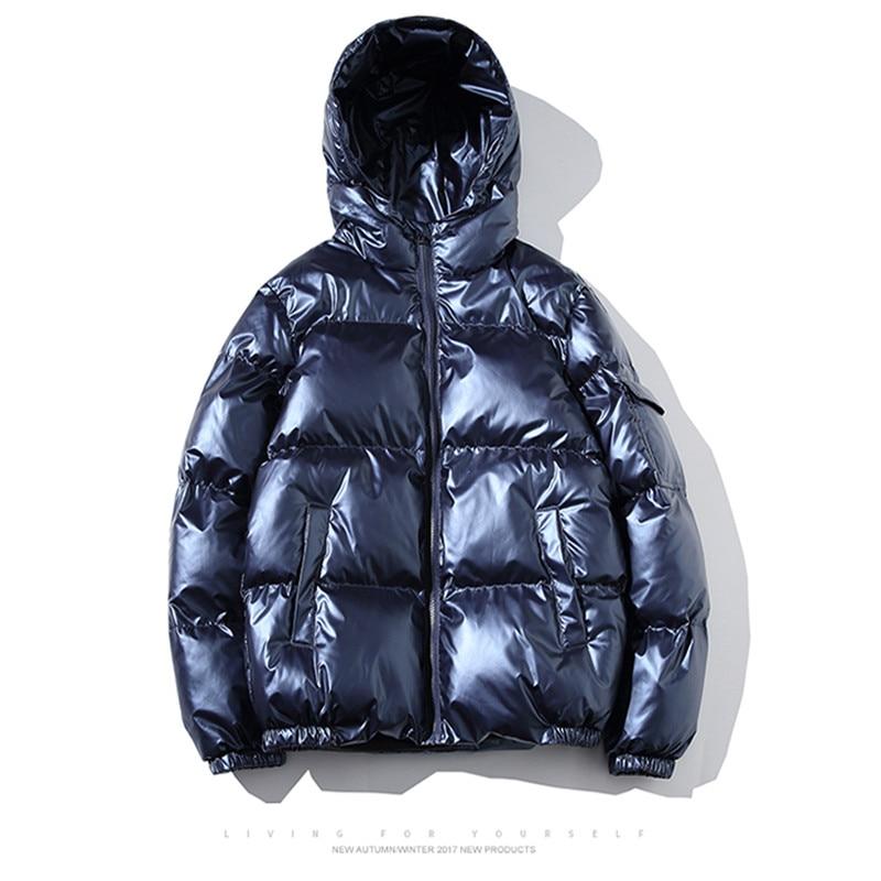 Мужская Утепленная парка tarm, свободная Большая мужская и мужская зимняя куртка с капюшоном, стеганая парка, куртка