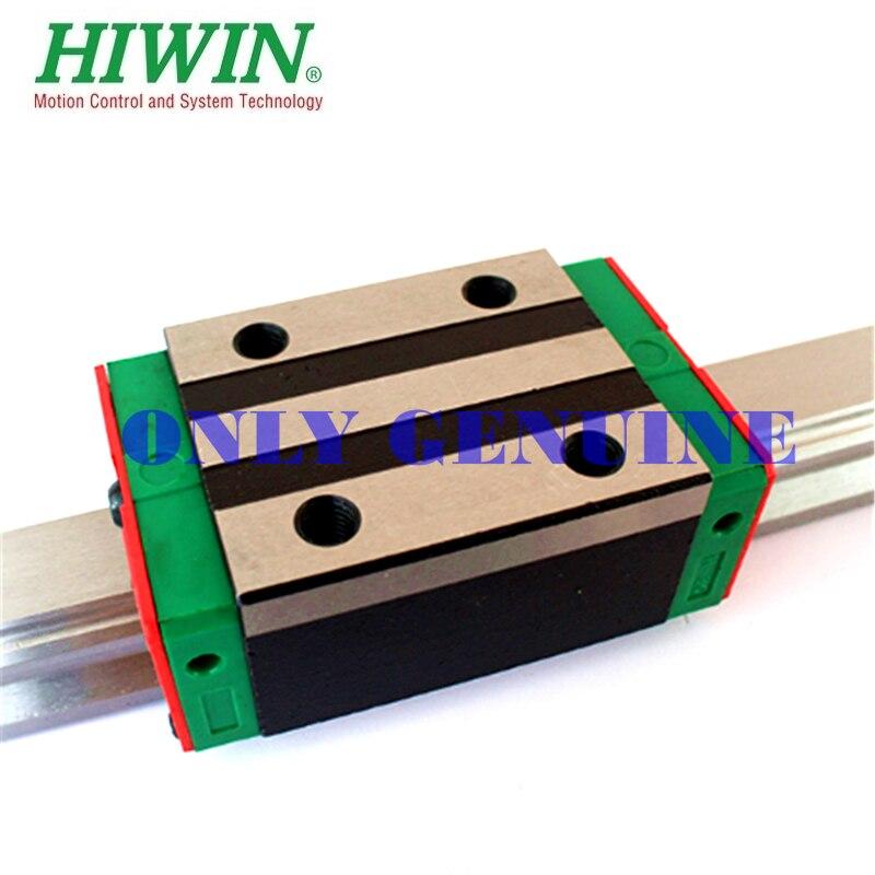 Hiwin-كتلة نقل لسكة التوجيه الخطية HGW25 HGH25 EGH25 EGW25 ، توصيل مجاني