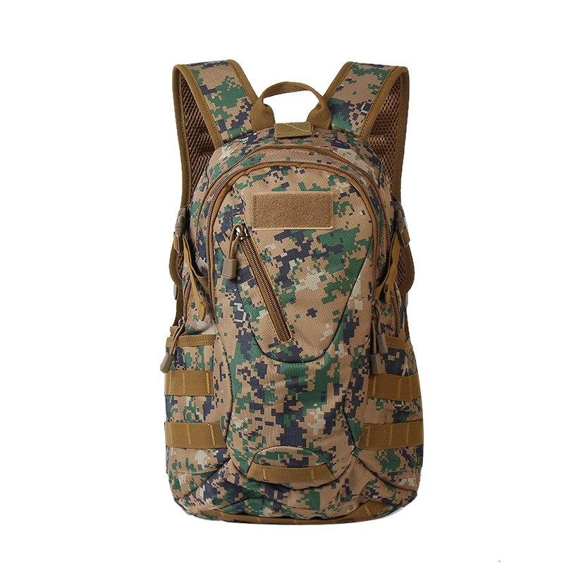Mochila militar táctico de 30 l para hombre, mochila de viaje para acampar, Molle, escalada, senderismo al aire libre, bolsa de deporte de caza, mochila de ataque 3D