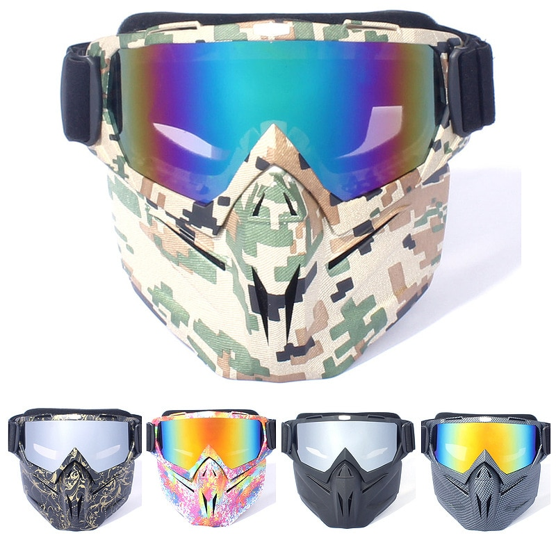 New windproof ski goggles Goggles Motorcycle goggles riding glasses riders equipped with windproof glasses