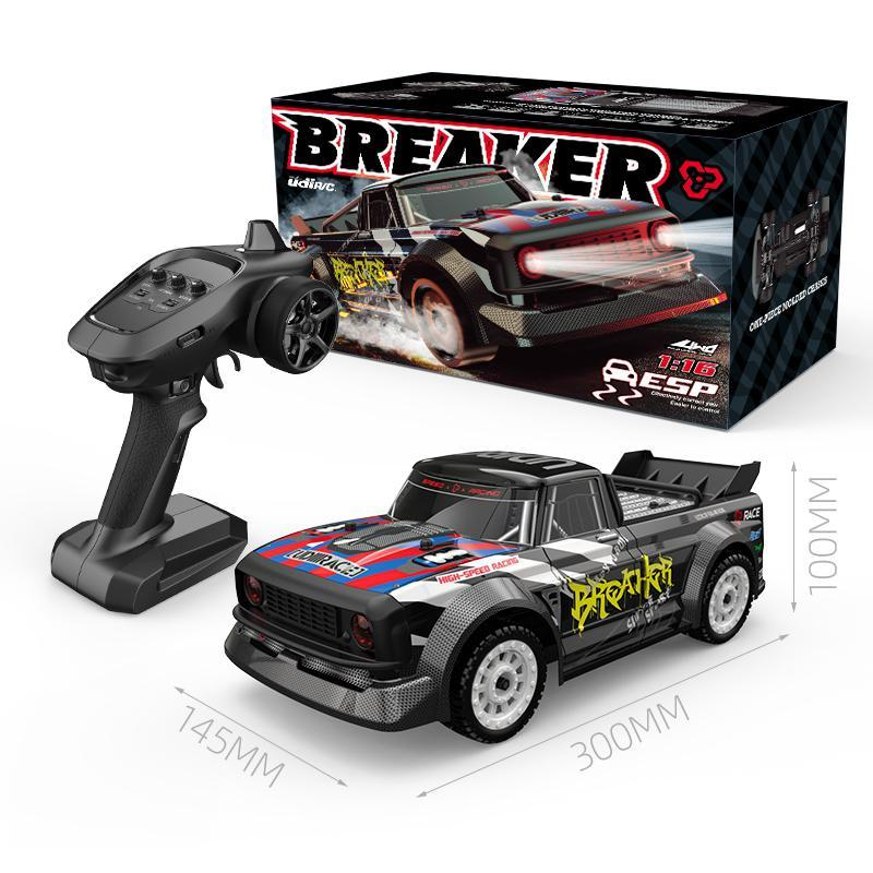 UDIRC RC1601 RTR RC Car 1/12 2.4G 4WD 30km/h LED Light Drift On-Road Proportional Control Vehicles Model Toy For Boy Gift enlarge