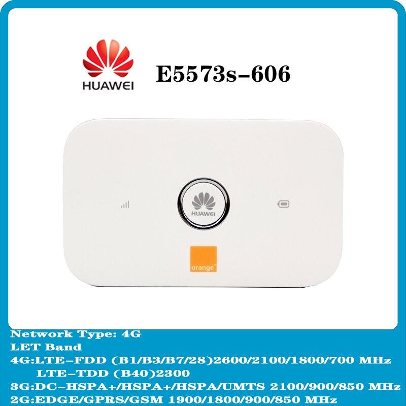 huawei e5573 e5573s 606 4g wifi roteador movel hotspot bolso 150mbps slot ate 10 usuarios pk e5577