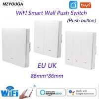 Tuya     interrupteur intelligent  1 2 3 boutons  wi-fi  sans fil  EU UK  Alexa Google Home Assistant