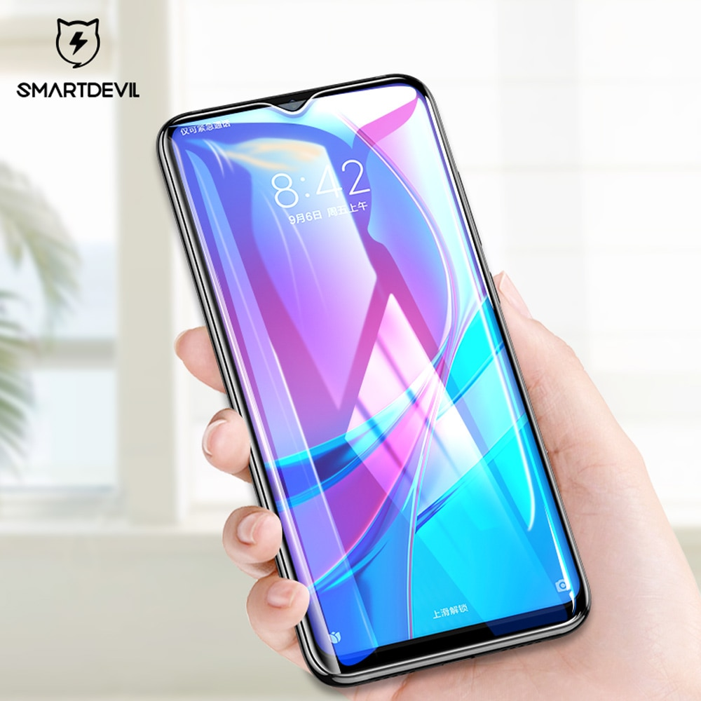 SmartDevil glass tempered for xiaomi Redmi note 8 pro screen protector smartphone For xiaomi redmi note 8 pro  Clear phone film