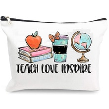 teach love inspire College High School Graduation back to school birthday Teachers' Day Christmas Te