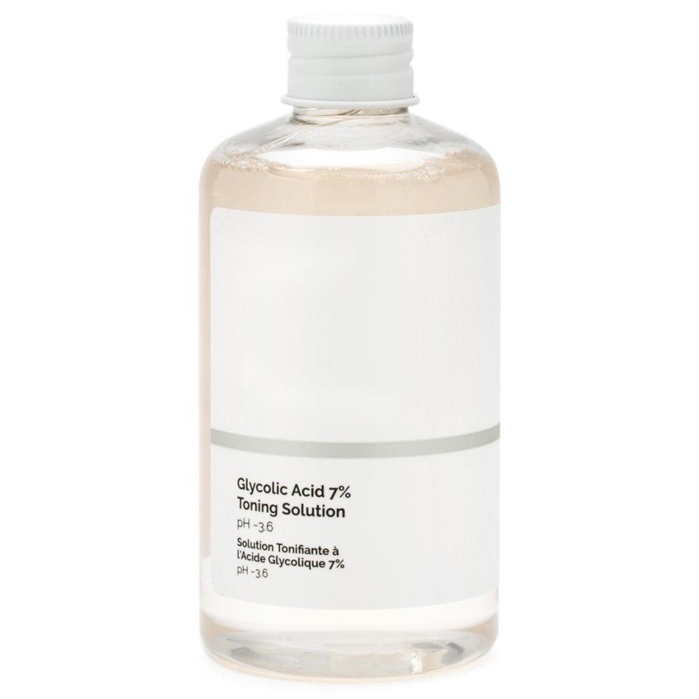 Glycolic Acid 7% Toning Solution Ordinary Gentle exfoliation clear skin even skin tone improve skin texture glycolic acid 10