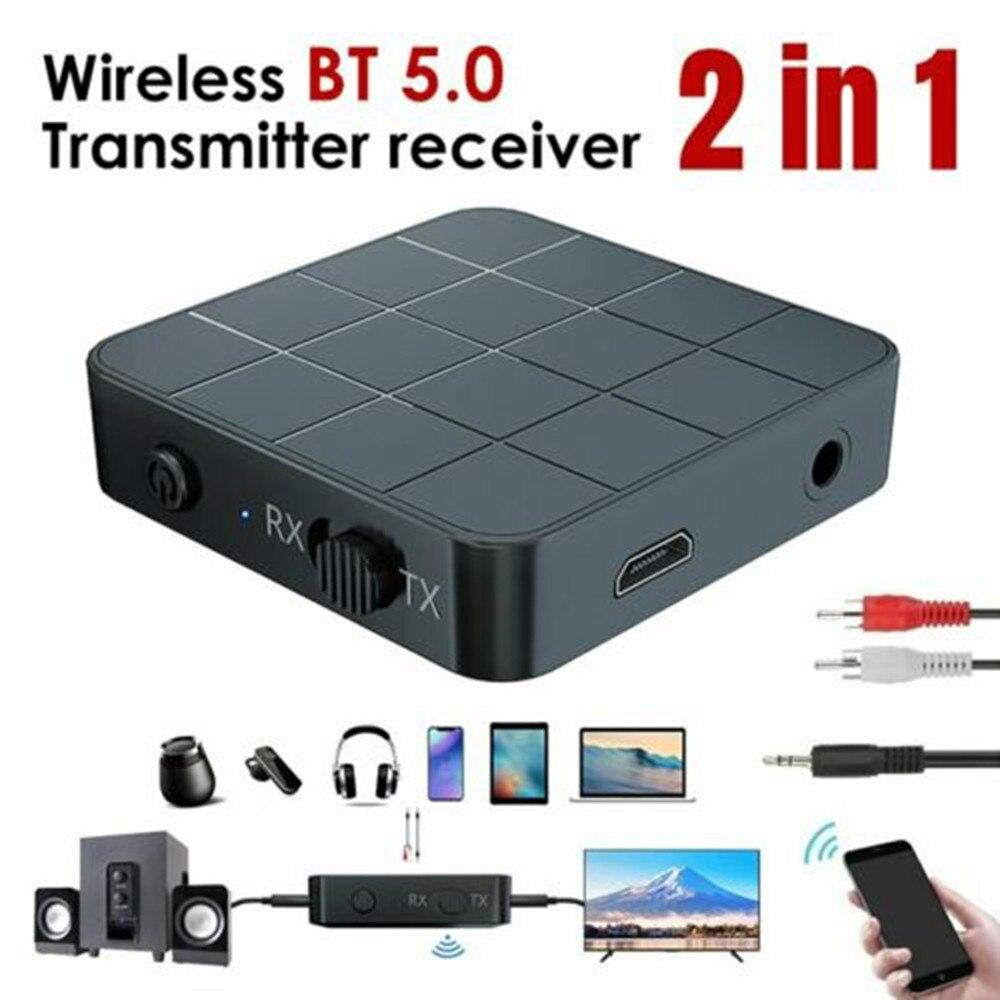 Беспроводной приемник Bluetooth 3,5, передатчик HIFI RCA на мм Aux, аудио адаптер, MP3 музыкальный плеер, громкая связь, автомобильный инструмент