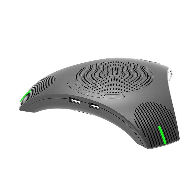 أفضل G95 جهاز كمبيوتر مكتبي صغير USB مؤتمر ميكروفون متعدد الاتجاهات المتكلم مكبر الصوت للأعمال الفيديو تلبية