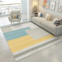 Nordic Rug And Carpet For Home Living Room Modern 3D Geometric Carpet Floor Rug Bedroom Non-slip Sofa Coffee Table Mat Doormat