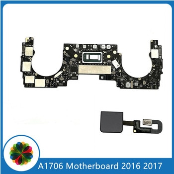 Original A1706 Motherboard 2.9G/3.1Ghz 8G Ram 256/512GB With Power Button For MacBook Pro 13
