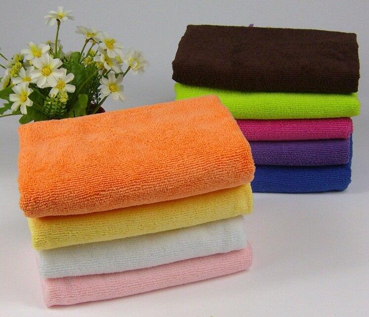 2 piezas de paño de bambú de fibra de madera, toallas de lavado de aceite no contaminadas, toalla de cocina, paño de limpieza de microfibra, torchons A34-2PC
