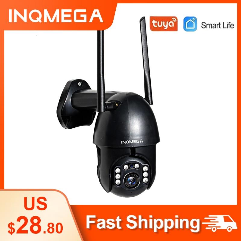 TUYA Smart Life WiFi IP Camera 1080P HD Outdoor PTZ Camera Wireless CCTV security Waterproof Cam Support Google Home Alexa