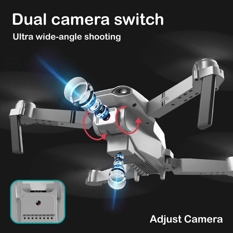 RC Drone Aerial Photography UAV Wifi Quadrocopter with Camera 4K Folding 4-Axis Folding Remote Control Aircraft Global Hot Toys enlarge