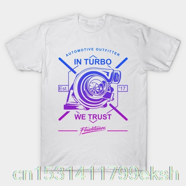 JDM Turbocharge en turbo we trust Camiseta hombres camiseta FashionMercede