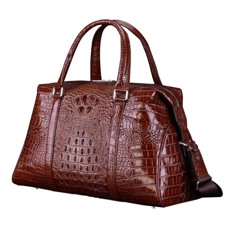 التمساح نمط أمتعة أعمال حقيبة الكتف واحدة حقيبة يد فاخرة المرأة جلدية Crossbody السيدات حقائب اليد للمصمم