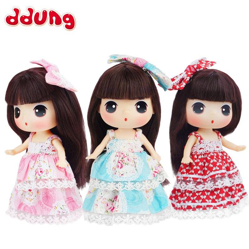 Ddung Baby Doll Toys Floral DIY 18cm Fashion Cute Simulation 3Y+ Princess Decoration Kids Toys For Girls