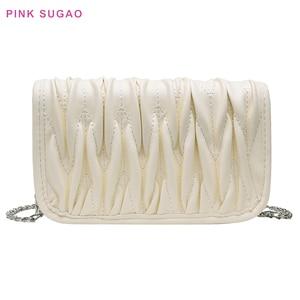 Pink Sugao Women Purse luxury handbags women bags designer crossbody bags for women chain bag small shoulder bag women handbags