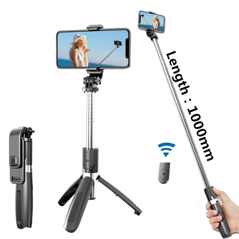 Фото - 4 In1 Bluetooth Wireless Selfie Stick Tripod Monopods Universal for Smartphones for Gopro and Sports Action Cameras lester madden professional augmented reality browsers for smartphones programming for junaio layar and wikitude