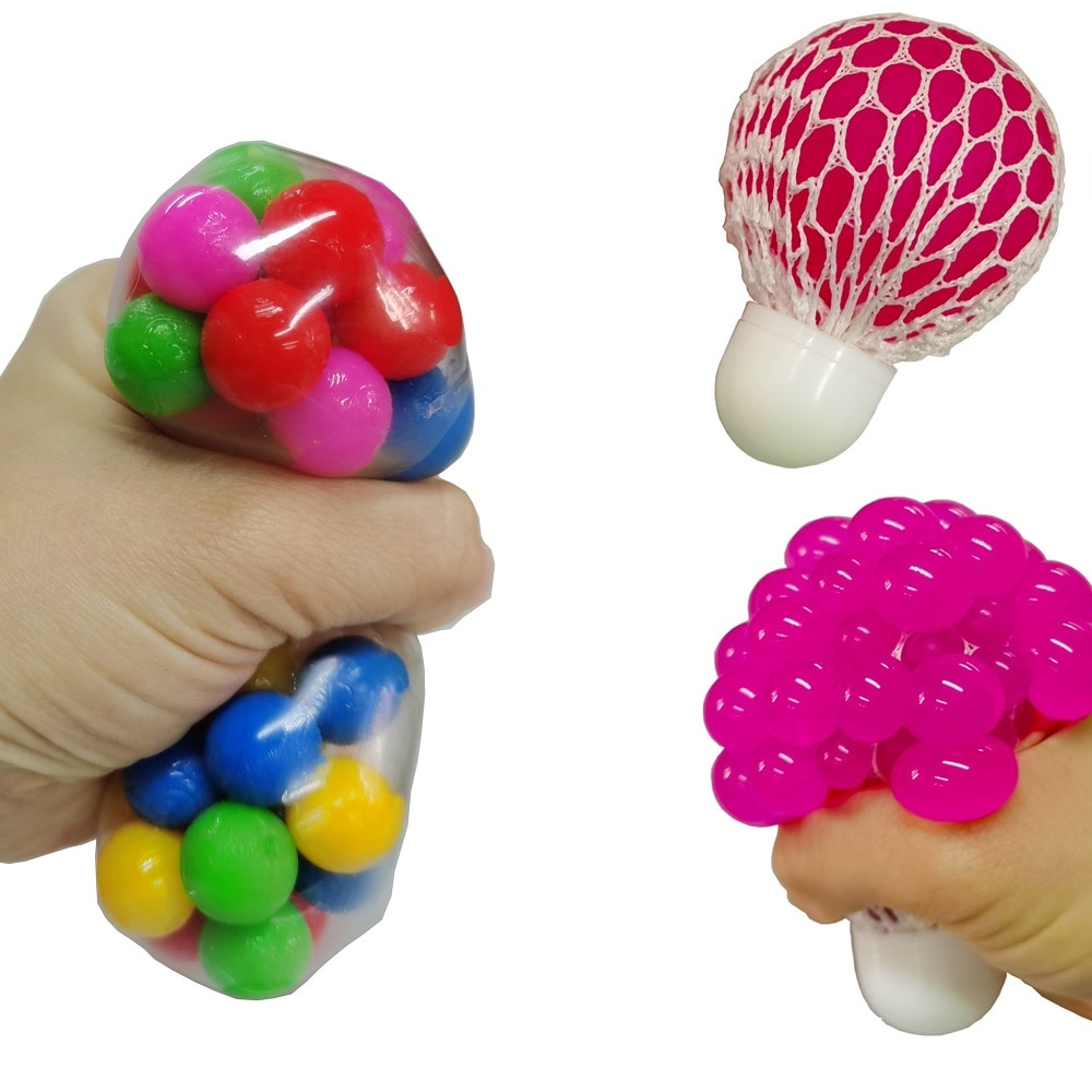 Popit Fidget Toy Set Pop It Pack Sensory Toy Autism Anxiety Therapy Popit Stress Ball Soft Squeeze Toys Adult Kids Dropshipping enlarge