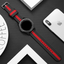 active 2 straps for samsung galaxy watch 4 3 41mm 45mm 46mm 42mm 44mm Gear S3 Frontier nylon band for huawei watch gt 2 e correa