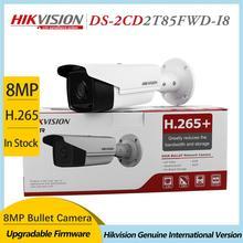 Hikvision DS-2CD2T85FWD-I8 8MP sieciowa kamera typu Bullet 4K Bullet IP kamera PoE zewnętrzna noktowizor IR nadzór bezpieczeństwa H.265