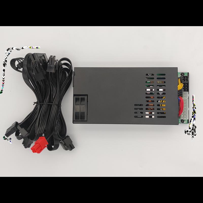 Moduler 500W 600W small 1u silent flex power supply ITX NAS mini chassis power supply K39 S35 game gaming Power PSU new psu for xinhang flex itx k39 k35 s3 e200 small 1u rated 350w peak 400w power supply xh 3501psu fsp270 60le fsp250 50gub