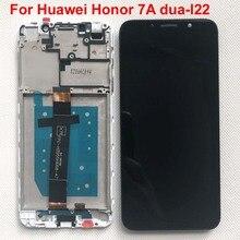 100% Getest Aaa 5.45 ''Originele Lcd Voor Huawei Honor 7A Dua-l22 DUA-LX2 Lcd Touch Screen Digitizer Vergadering Met frame